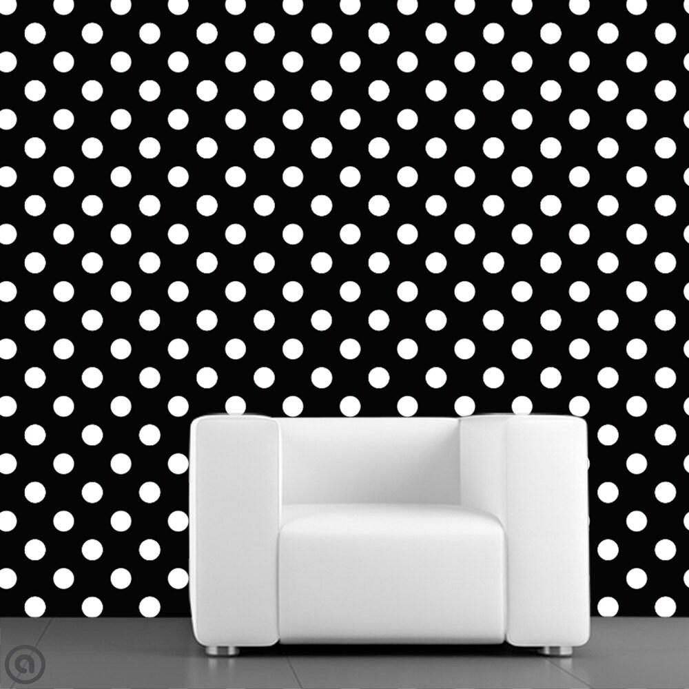 removable wallpaper polka dots peel stick self adhesive