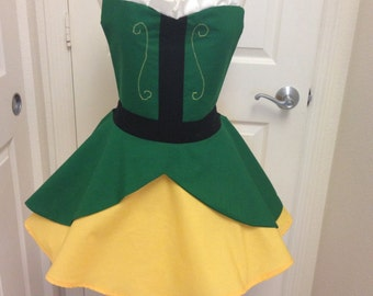 Elf full skirt apron