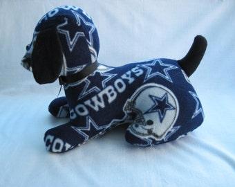 Cowboys Stuffed Sports Dog