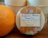 Sunshine Soap and Shampoo, fragrant, all-natural, artisan citrus soap, palm-free, vegan shampoo bar, solid shampoo