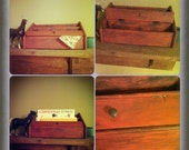 Upcycled mail holder - Farm style series