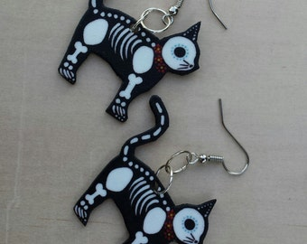 DOD Kitty earrings