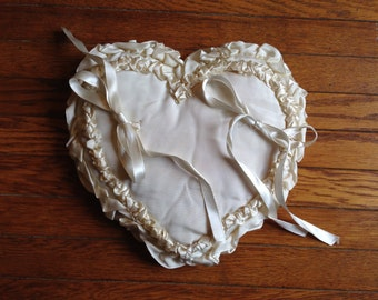 Antique Ring Bearer Pillow