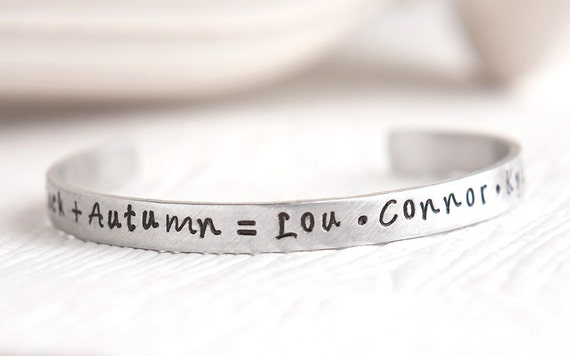 Bracelet with children s names mothers day gift grandmother