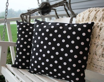 Polka Dot Pillow Cover Set 20x20