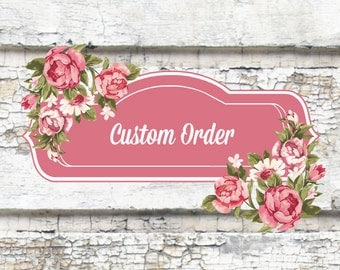 CUSTOM Incense Scent Designed Especially for Michelle // Reserved Listing