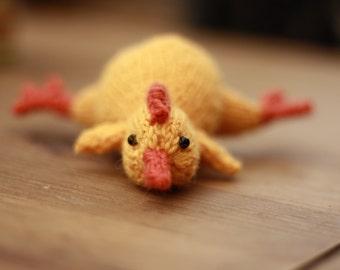 "Rubber Chicken Toy ""Roy"""