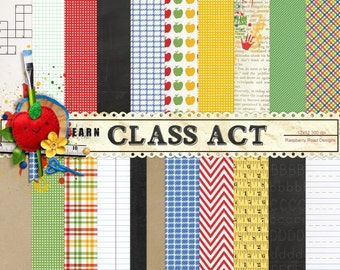 Class Act Paper Set