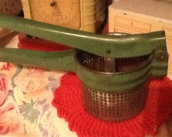 1950 Green Handle Metal