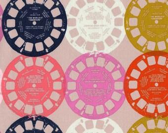 Playful - Viewfinders - Pink - 0012-2 - 1/2 Yard