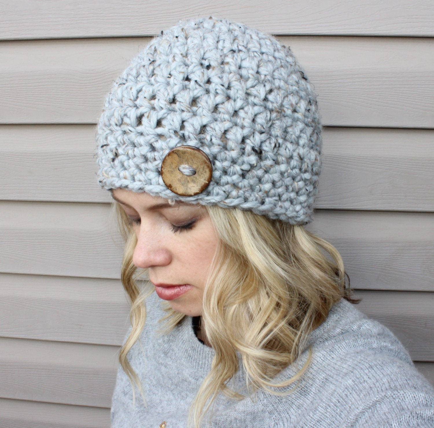 Beginner Crochet Patterns Beanie : CROCHET PATTERN: The RYAN Beanie crochet pattern for baby