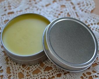 Swarmlovin' Beeswax Formula - 2 oz Tin - Natural Simple Skin Salve, Lip Balm, Thread Conditioner & Wood Polish
