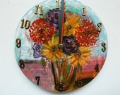 Original Art Clock