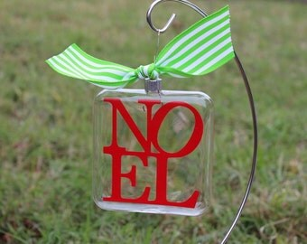 Beautiful Noel Christmas ornament