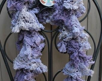 Lavender Bohemian Scarf