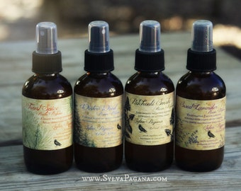 Natural room spray - air freshener spray mist - Room Perfume - corset, lingerie, linens deodorizer - essential oils