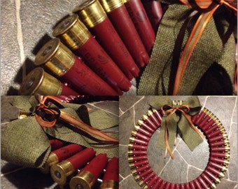 12 gauge shotgun shell wreath