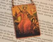 Saint Jewelry Saint Necklace Saint Catherine of Alexandria
