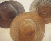 Natural Floppy Beach Hat With Your Monogram Included Free Shipping
