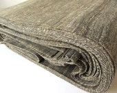 Anthracite grey brown Indian raw silk fabric nr 578 FULL YARD / METER
