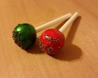 American Girl size Doll Holiday cake pops