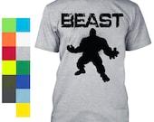Beast Mode Shirt Workout Gear Gym BodyBuilding Weight Lifting Hulk