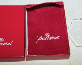 Baccarat Crystal Ornament 1991