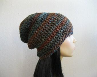 Crochet Beanie - Slouchy Beanie - Beanie Hat - Crochet Slouchy Beanie - Winter Hats - Crochet Beanie Hat - Crocheted Beanies - Beanie Hats