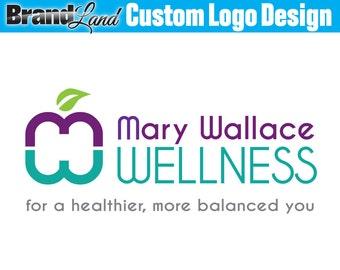 Logo Design, Health Logo, Custom Logo Design, Logos, Professional Logo, Business Logo - Unlimited Revisions