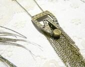 Raphaël - Special Price - boho chic flapper 1920 vintage art deco necklace