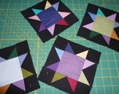 Amish star quilt blocks