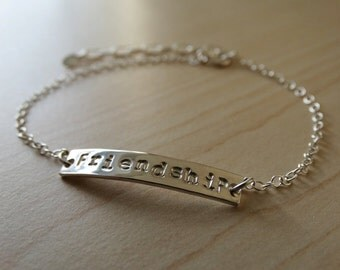 Personalised Silver Bracelet - Sterling Silver