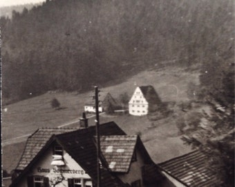 Original Antique Photograph How Green Was My Valley