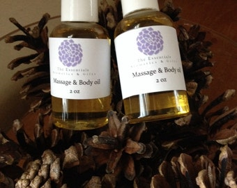 Clarity cold and flu relief blend body oil 2oz