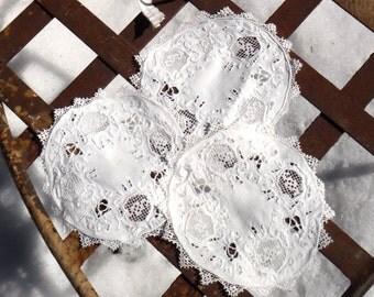 Doily, Battenburg Doilies SET, Battenburg Lace, Vintage Doilies, Round Doily, Textile, White Doily, Doily Set, Vintage Lace, Fabric, Doilies