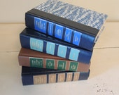 Reader's Digest Book Stack FOUR (4) Volumes Book Bundle Prop Books Crafts Decorator Books Instant Collection Colorful Covers