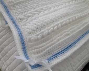 Baby Dublin Aran Blanket