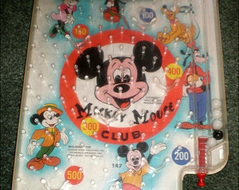Mickey Mouse Pinball Game