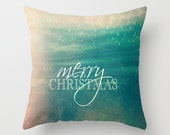 Christmas Pillow, Holiday Throw Pillow- Christmas Decor, Xmas Present, Holiday Gift, Snowflake, Home Decor, Stocking Stuffers, Holiday Decor