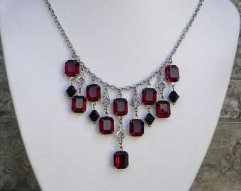 The Octagonist....garnet, clear, or stalight color options