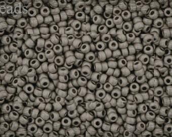 11/0 TOHO seed beads 10g Toho beads 11/0 seed beads Silver 11-566 Frosted Matte beads last