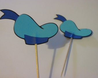 12 Donald Duck cupcake toppers, donald topper, disney cupcake topper