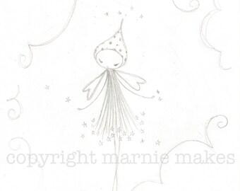Sugar Plum Dreams - giclee print ***SALE ITEM***