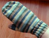 Mitten Pattern to Knit, Shawa Mittens, PDF pattern, in 3 sizes