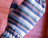 Mitten Pattern to Knit, Shawa Mittens, PDF pattern, in 3 sizes