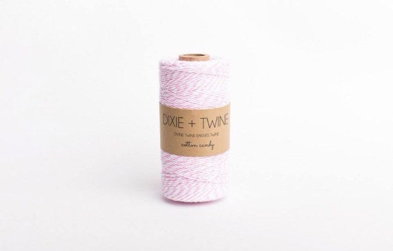 SALE 25 Yards Cotton Candy Pink Divine Twine Baker's Twine