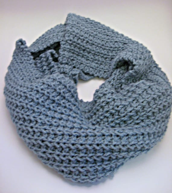 Loose Knit Shawl Pattern : Glacier Loose Knit Scarf Pattern, Ribbed Scarf Pattern, Winter Scarf, DIY Kni...