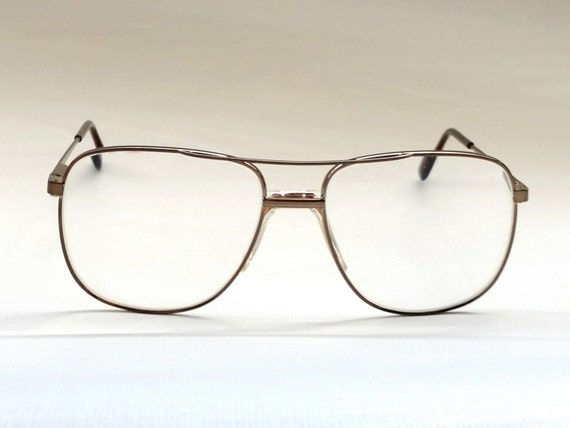 Eyeglass Frames Fairview Heights Il : Mens SAFILO ELASTA Eyeglass Frames Vintage Cop Style Over
