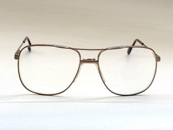 Mens SAFILO ELASTA Eyeglass Frames Vintage Cop Style Over