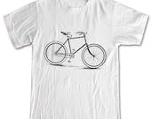Bike Shirt Vintage Illustration T-shirt Women Men Children Small, Medium, Large, XL